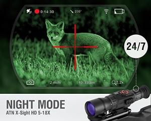 Thermal Imaging Scope vs Night Vision Scope