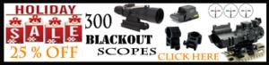 300 Blackout Holiday Sale