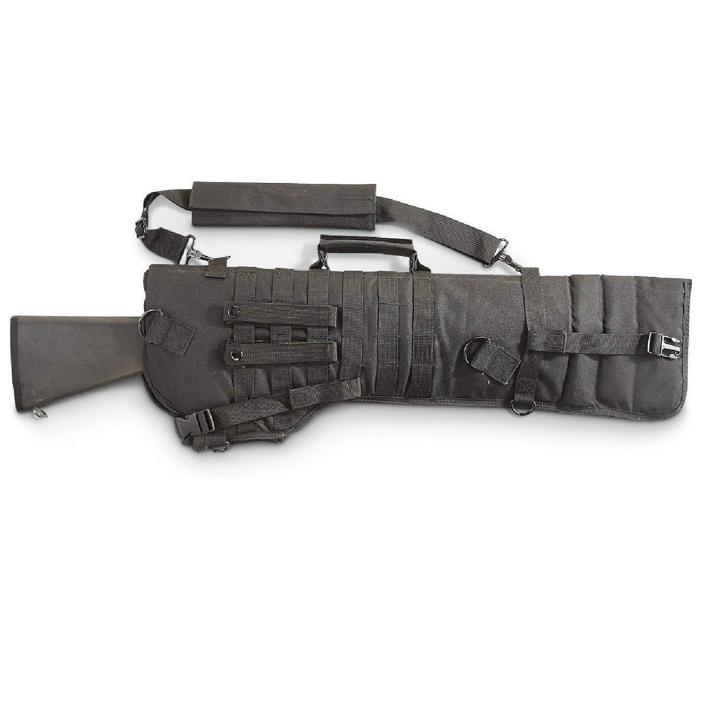 tactical rifle scabbard
